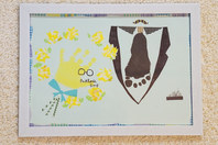 【募集残2組さま】父の日企画*手作りシフォンケーキ&手形アートレッスンの画像
