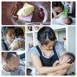 Yさま&Mくん(2ヶ月)の画像